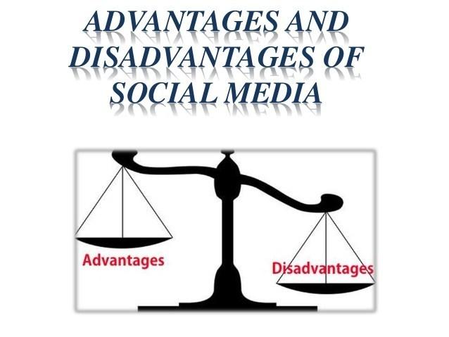 Top 5 Advantages and Disadvantages of Social Media Marketing